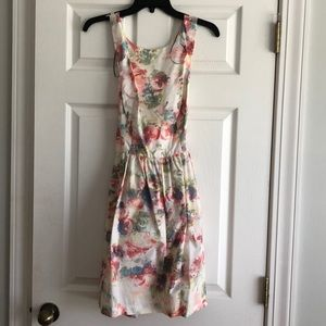 Muse Crossback Floral Dress NWT Size Small